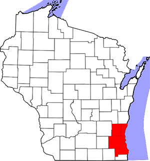 Metro-Milwaukee Map